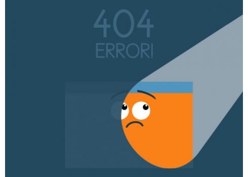 小細節大關鍵,現在就開始優化你的404頁面!