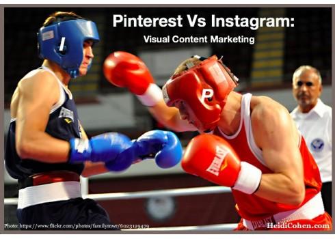 Pinterest v.s Instag