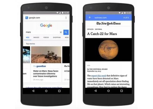 Google 推出行動網站加速計畫 AMP